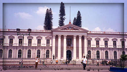 national palace, san salvador